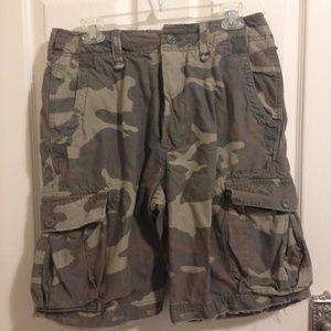 American Rag Camo Military Cargo Shorts Size 30